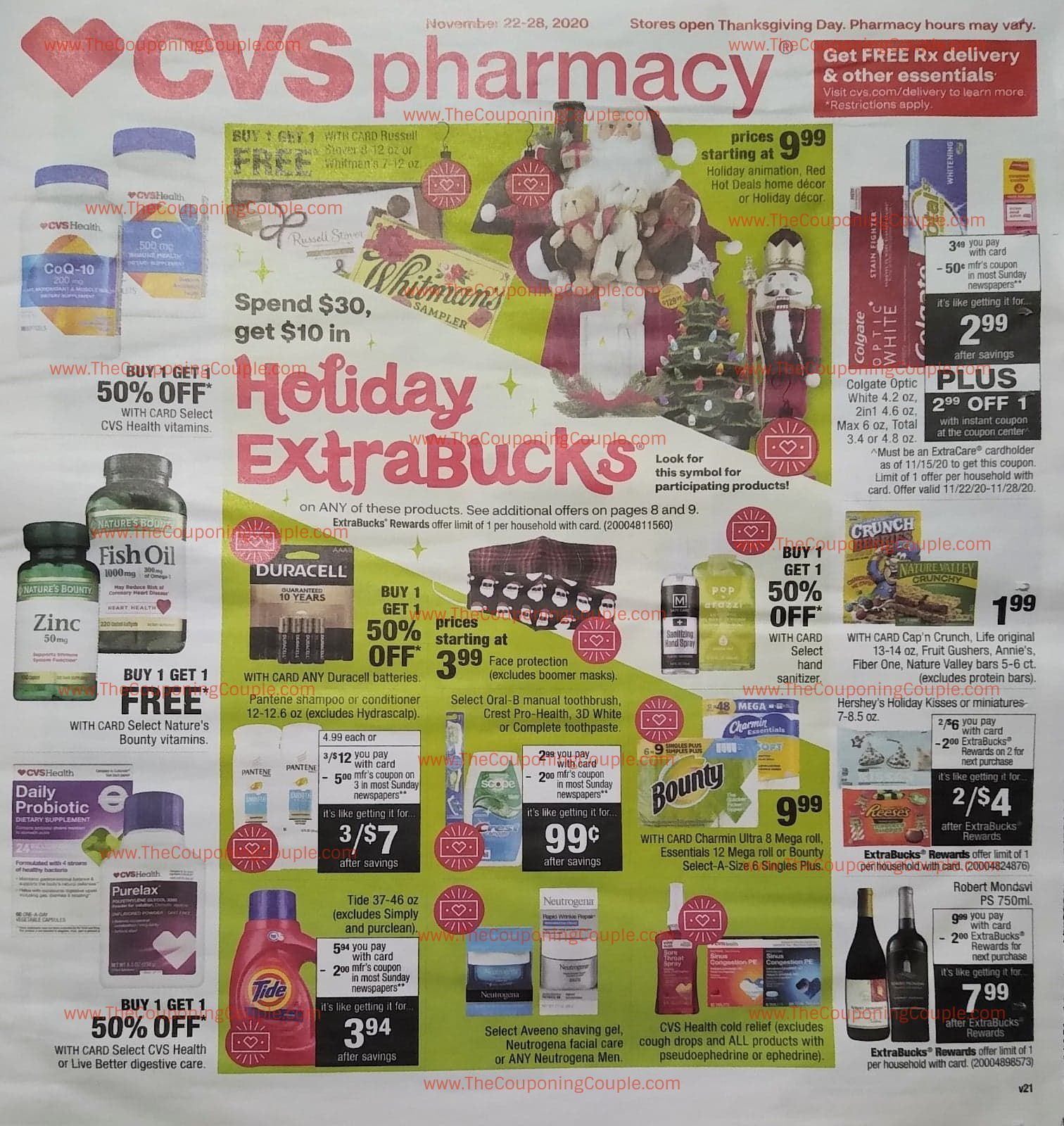 Cvs Ad Preview 11 22 20 11 28 20 Early Cvs Weekly Ad Flyer Preview